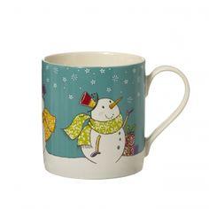 Snowman Mug | Christmas China | Whittard of Chelsea
