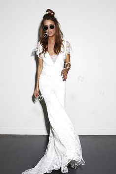 Coachella bridal style.