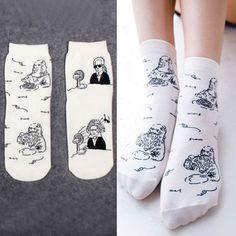 Hot fashion Japanese dimensional cute kawaii cartoon celebrity Women's  Sock  Fruit Sweet Woman Socks for Girl / Female / Ladies