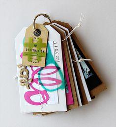 Make a mini album using tags