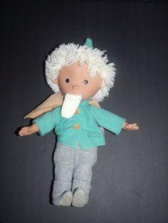 Gotz Doll Boy Blonde Hair Beard Folk Singing Musical German Vinyl Soft HTF Rare #Gotz #Dolls