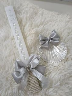 Baby Baptism, Jade, Easter, Candles, Gifts, Crafts, Party, Decorated Candles, First Holy Communion