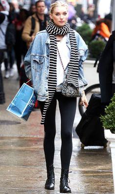 7 Things You Should Never Wear With Leggings via @WhoWhatWearUK