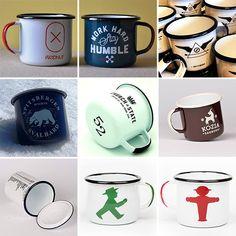 More Enamel Mugs!