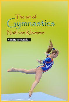Noël van Klaveren op Vloer tijdens het NK Turnen 2014 in AHOY Rotterdam