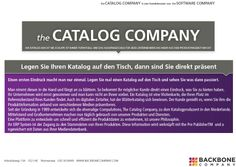 Wir machen Ihre Kataloge für Sie oder die Software für Ihre eigene Omnichannel Kommunkation.
