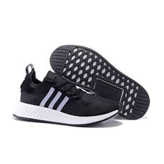 innovative design 4809d 38456 Special Adidas NMD R2 Black White Running Shoes For Sale - 88.00