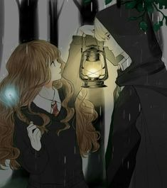 This is a twist of Harry potter series where Draco is a Veela and nee… Harry Potter Hermione, Harry Potter Anime, Arte Do Harry Potter, Harry Potter Universal, Harry Potter Movies, Hermione Granger, Ron Weasley, Wallpaper Harry Potter, Harry Potter Artwork