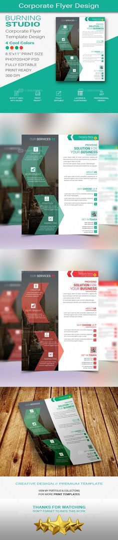 Corporate Flyer Design on @codegrape. More Info: https://www.codegrape.com/item/corporate-flyer-design/15157