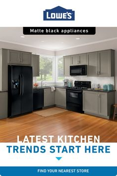 Upgrade your kitchen to dream status with stylish and modern appliances from Lowe's. Choose from our list of trusted brands for everything from ovens and ranges to dishwashers, washing machines, fridges, and so much more. Find your nearest Lowe's today. #dreamhome #inspiration