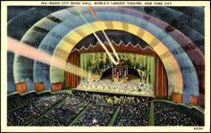 radio city music hall stage - Recherche Google