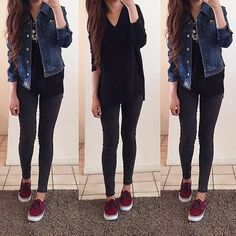 Find images and videos about girl, fashion and style on We Heart It - the app to get lost in what you love. Teen Fashion Outfits, Mode Outfits, Girly Outfits, Classy Outfits, Cute Fashion, Look Fashion, Outfits For Teens, Pretty Outfits, Stylish Outfits