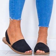 Women Flat Summer Sandals Ladies Gladiator Peep Toe Elastic Band Fashion – #sandalssummer #sandalsoutfit #sandalsboho #sandals #slidesandals #slides Slip On Espadrilles, Slingback Flats, Espadrille Sandals, Flat Sandals, Shoes Sandals, Heels, Women Sandals, Flat Shoes, Sandals Platform