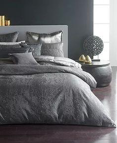 Donna Karan - Duvet Bedding, Grey Bedding, King Duvet, Queen Duvet, Bedding Sets, Modern Bedding, Donna Karan, Luxury Bedding Collections, Bed Sizes