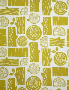 Roddy and ginger. Such beautiful graphic prints and always the right colour wood log woodland forest pint printmaking pattern design Design Art, Logo Design, Graphic Design, 2 Logo, Contemporary Wallpaper, Textile Patterns, Textile Prints, Textiles, Pretty Patterns