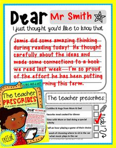 ~FREE PRINATABLE~  This positive note-home template is the perfect way to quickly and immediately acknowledge perseverance, effort or achievement – great for those 'light bulb moments' that children have during a lesson. Children especially LOVE the prescription section of this note where they can choose a special reward to be given at home!