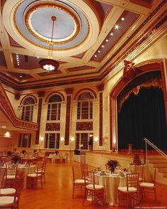 Now that's one heck of a wedding venue. Tuckerman Hall in Worcester, MA.