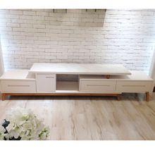 mobiliario danés lcd de madera de soporte de la TV con almacenamientos y…
