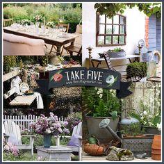 Take Five: Vintage Outdoor Decor http://www.casadecolorir.com.br/2012/04/presentes-de-supermercado.html