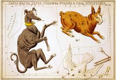 celestial card, from urania's mirror, 1825