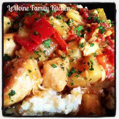 Sweet & Sour Chicken | LeMoine Family Kitchen #chicken #easydinner