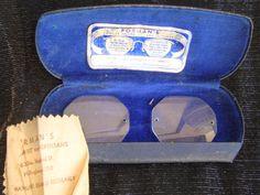 Antique STEAMPUNK Octagon EyeGlass Lenses by SofiasCobwebMuseum..$8