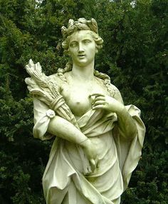 Demeter : Goddess of fertility, agriculture, nature, and the seasons