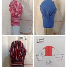 22 Ideas Sewing Hacks Clothes Pictures For 2019 Dress Sewing Patterns, Blouse Patterns, Clothing Patterns, Bag Patterns, Techniques Couture, Sewing Techniques, Sewing Sleeves, Sleeves Designs For Dresses, Stylish Blouse Design