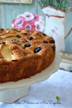 Pastel De Manzana y Arándanos de Donna Hay