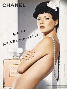 Chanel (Perfumes) 2005 Coco Mademoiselle, Kate Moss