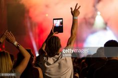 03-22 Man shooting live music concert through digital tablet.... #vrhnika: 03-22 Man shooting live music concert through digital… #vrhnika