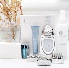 Ageloc Galvanic Spa, Nu Skin Ageloc, Spa Packages, Face Lines, Hair Serum, Spot Treatment, Home Spa, Beauty Box, Face Skin