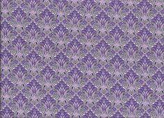 Wallpaper print Lawn cotton mauve