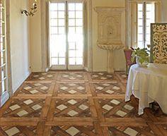 Floors --Basketweave Parquet