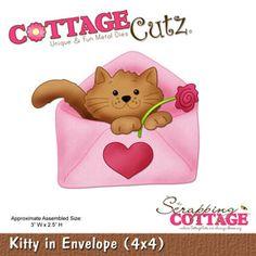 Kitty in Envelope