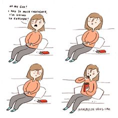 15 Comics In Which I Try To Be An Adult But Fail Miserably (Marloes De Vries)