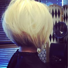 Love this short hair