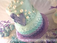Ombre Under The Sea Cake.
