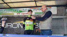 Jan Bevc bo v drugi etapi vozil v beli majici najboljšega mladega kolesarja.