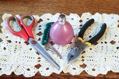 How to Remove the Spray Top From Old Perfume Bottles to use for essential oil use.
