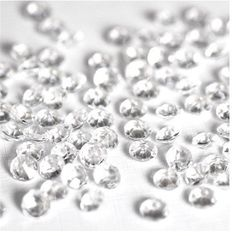 1000PCS 4.5mm 1/3ct Small Crystal Beads Diamonds Confetti Wedding Table Decoration - Wedding Look