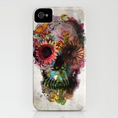 This is a bit of a special phone cover...Flower Skull $35