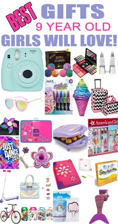 christmas girl Gifts 9 Year Old Girls! Best gift ideas and suggestions for 9 yr old girls. Top presents for a girl on her ninth birthday or Christmas! Coolest gifts for that special girl. Get the top gifts on any tween girls gift list or gift guide now!