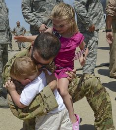 Deployed members of the 136th Airlift Wing Texas Air National Guard arrive back home from their combat mission rotation. The unit members have been deployed since February 2013. Help us welcome home these #NationalGuard Airmen!