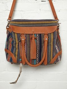 Jacquard Satchel at Free People Clothing Boutique