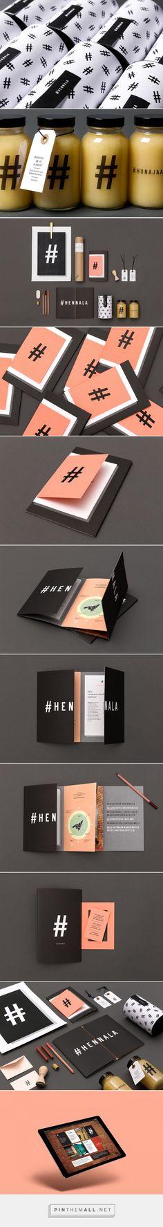 Hennala Visual Identity on Behance - created via https://pinthemall.net