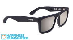 """Spy's Fold glasses. This Fold frame is multi-hinged and """"folds"""" up to fit neatly in its pouch or pocket, without fear of getting lost or scratched. $180 for the polarized lenses.  • Foldable frame fits neatly in custom case or any small pocket • Custom-built from virtually indestructible Grilamid™ and sturdy 5-barrel and pin hinges • 6-base curve polycarbonate lenses block 100% of UVA, B, and C rays • Custom pouch doubles as wallet"""