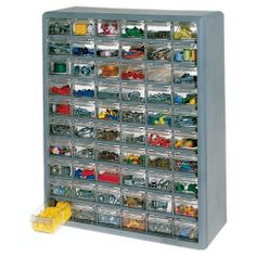My son has this for his legos, better than in a bucket or the floor.  Now he can see exactly what colors or pieces he needs.