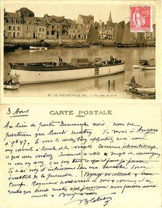 Le Pouliguen - Un coin du Port - 1934 (from http://mercipourlacarte.com/picture?/2022/)
