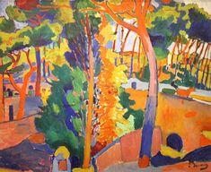 André Derain - Ponte sobre rio 1906 Óleo sobre tela, 82.6 x 101.6 cm
